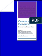 Character as Evidence