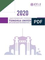 Tsinghua University International Admission