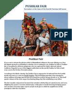 Pushkar Camel Fair - Essential Festival Guide