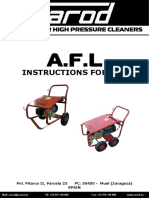 CAROD AFL-3021 Operating Instructions