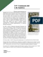 Celebración_del_IV_Centenario_del_Descubrimiento_de_América