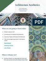 Islamic Architecture Aesthetics