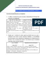 (8) TCCN 14 - Exercícios Resolução de Conflitos