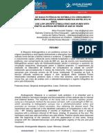 O USO DO LASER DE BAIXA POTÊNCIA NO ESTÍMULO DO CRESCIMENTO CAPILAR EM HOMENS COM ALOPECIA ANDROGENÉTICA ENTRE 25 E 35 ANOS.pdf