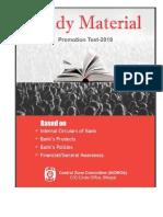 CZC BHOPAL -STUDY MATERIAL 2019