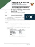 INFORME AVANCE FISICO FINANCIERO DE OBRAS