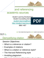 Citing and referencing academic sources (1)