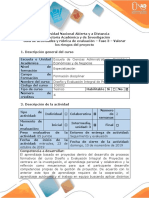 Guia de actividades y rubrica de evaluacion - Fase 3 - Valorar los riesgos del proyecto del grupo (1)