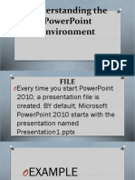 Understanding the PowerPoint Environment.pptx