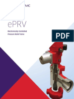 Ellectronically controlled pressure relief valve-brochure