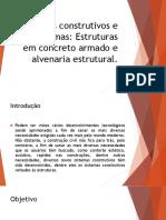 APRESENTAÇÃO - SISTEMAS CONSTRUTIVOS