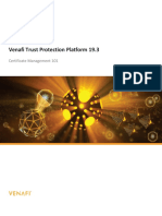 Venafi Trust Protection Platform 19.3 Working with Certificates