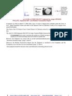 09-04-24 Zernik v Connor et al (2:08-cv-01550) Dkt #107 Judgment by Judge VIRGINIA PHILLIPS, respective NEF, and Related Transactions Report s