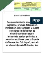 B.U. Instalación de Sistema de Deshidratación en Cuichapa 2_Ver Final Revisada.docx