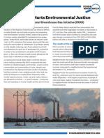 Cap and Trade Hurts Environmental Justice