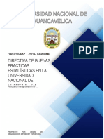 REGLAMENTO DE LAS BUENAS PRACTICAS ESTADÍSTICAS EN LA UNH.docx