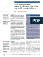 Measuring progress towards Sustainable Development Goal 3.8 on universal health coverage in Kenya.pdf