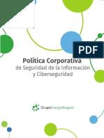 Política de Seguridad de la Información y Ciberseguridad