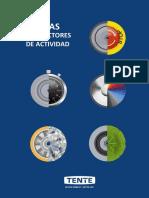 TENTE Ruedas por sectores de actividad 2019