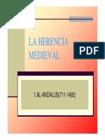 LA HERENCIA MEDIEVAL 1.AL-ANDALUS( )