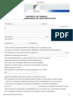 Modelo Contrato Empleada Particular Notaría Mendoza