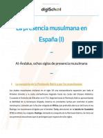La presencia musulmana en España (I)