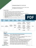 1819 Level E Final Exam Schedule and Study List Final T3 (3)