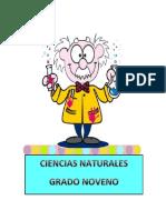 D. CIENCIAS NATURALES GRADO NOVENO