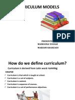 curriculum models ppt