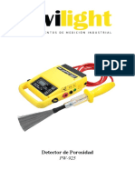 PW-925 Detector Holiday - Manual