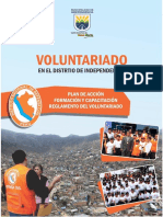 cartilla de voluntariado