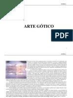 ARTE GÓTICO_RESUMEN