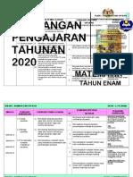 RPT TAHUN 6 MATEMATIK SK 2020