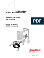 Powermax1650 Manual de servicio