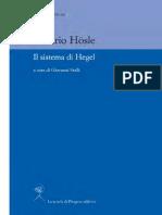 Vittorio Hosle - Il sistema di Hegel.pdf