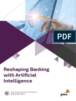 Reshaping banking with artificial intelligence