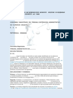 DEMANDA   POR  ACCION  DE REPARACION  DIRECTA    CONTRA  LA ENPRESA ELETRIFICADORA  DEL CAQUETA   S
