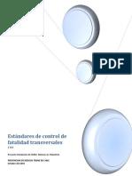 Desarrollo de Estándares de control de fatalidad transversales