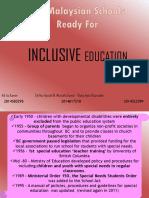 Inclusive Education Final