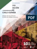 Brochure 10 años Chile España
