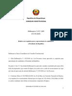 Deliberação nº2 cc 2019-A