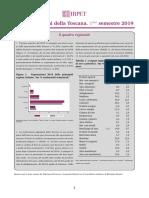 Esportazioni Della Toscana Aggiornamento Primo Semestre 2019