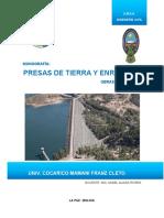 PRESAS DE TIERRA Y ENROCADO Univ. Cocarico Mamani Franz Cleto.pdf