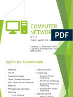 Lecture 2 - Protocol Suite-Layered Architecture-OSI Model
