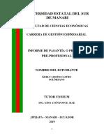 PASANTIAS KERLY CASTRO SOLORZANO