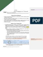 H III EJERCICIOS UNIDAD II PARTES 1-2 Y 3  -   BLOQUE A  -   BARCELONA trabajo