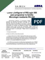 Configuracion PLC AB RS232