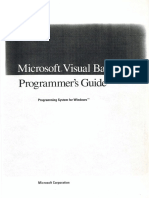 Visual Basic Programmers Guide 1991