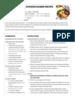Easy Homemade Chicken Ramen - The Flavor Bender