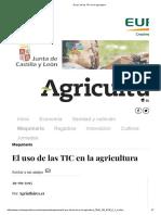 El uso de las TIC en la agricultura